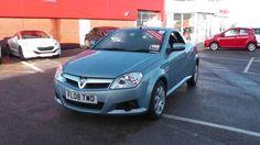 Used 2008 (08 reg) Blue Vauxhall Tigra 1.4i 16V 2dr for sale on RAC Cars