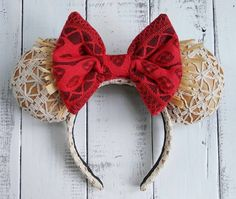 Moana Mickey Mouse Ears