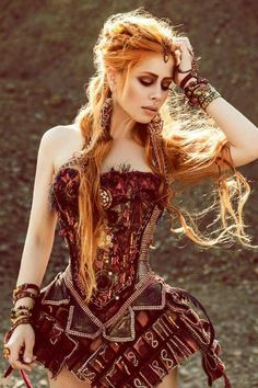 Model & Styling: Ophelia Overdose ~ Photographer & Retouch: Hellen Pass…