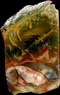 Morrisonite Jasper - here's another stone I would love to hold in my hand.