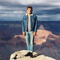 Florian Roser explored the Grand Canyon in his Trucker jacket. Where have your Levi's taken you? #LiveInLevis