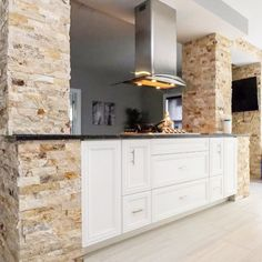 White kitchen, modern kitchen