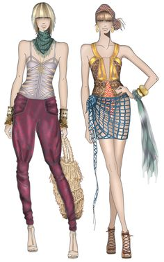 JAA ORIGINAL FASHION ILLUSTRATIONS