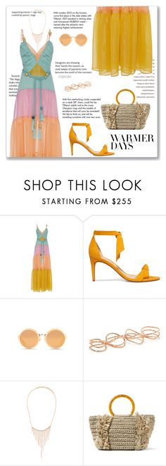 """""""Spring Colors"""" by angelicallxx ❤ liked on Polyvore featuring Tiffany & Co., Alexandre Birman, 3.1 Phillip Lim, Repossi, Suzanne Kalan, Carolina Santo Domingo and springdresses"""