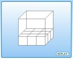 Cool Interactives that shows the shape filling one cube at a time . Math Websites, Maths Area, Guided Math, Math 5, Math Talk, Math Classroom, Classroom Ideas, 7th Grade Math, Teaching Math