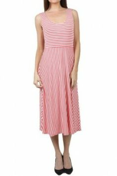Stripe Jersey Dress Striped Jersey, Dresses For Work, Stripes, Boutique, Shopping, Clothes, Fashion, Outfits, Moda