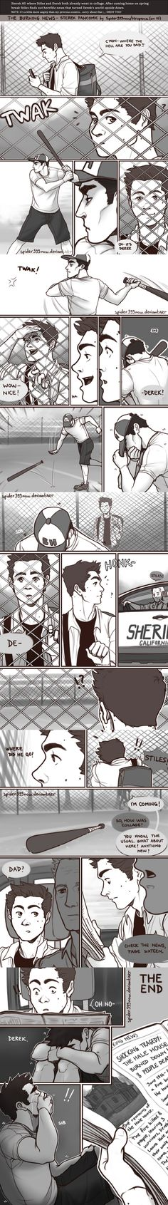 The Burning News-Sterek Fancomic