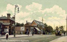 London, Ealing, Ealing Common (Station Approach) c1910's.jpg (1081×687)