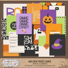 Boo Crew Pocket Card