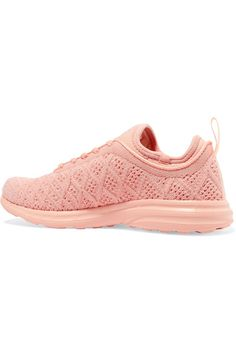 Athletic Propulsion Labs - Techloom Phantom 3d Mesh Sneakers - Peach - US