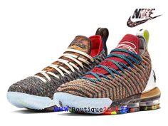 official photos bb7ea 33eb7 Les sports Nike LeBron 16 What The 1 Thru 5 Chaussures De BasketBall Pas  Cher Homme