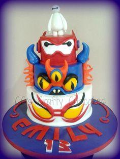 Big Hero 6 Super Baymax - Cake by Cathy Clynes