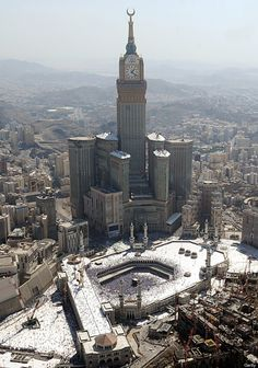 Did you ever been aware of the actual size of the place around Mecca??? ...insane!