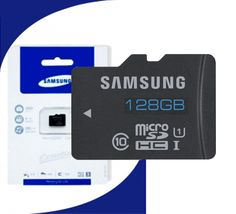 128 GB Micro – SD Memory Card (Sumsung)