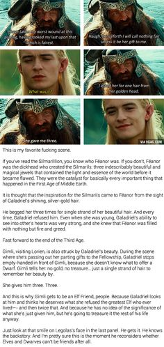 That's why lotr is such a great story
