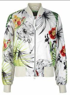 Tropical Print Jacket #Gap