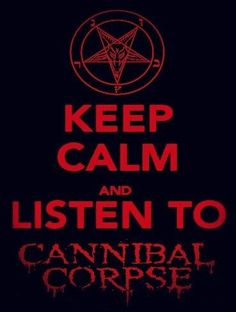 Cannibal Corpse Hard Rock, Rock N Roll, Metal Band Logos, Cannibal Corpse, Six Feet Under, Extreme Metal, Horror Show, Music Memes, Band Memes