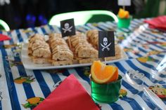Jake and the Neverland Pirates Party Ideas Captain Hook, Pirate Party, Neverland, 4th Birthday, Party Planning, Pirates, Goodies, Things To Come, Party Ideas