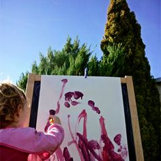 Outdoor Play Spaces - creative play