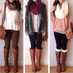 Cool winter boots to style your casual outfit no matter the weather! Lets go get them boots out of the wardrobe girls