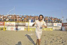 #BeachSoccer:Il pubblico di #Terracina saluta il ritorno del figliol prodigo #Pasquali