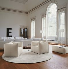 Butaca: LE BAMBOLE - Colección: B&B Italia - Diseño: Mario Bellini