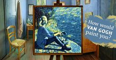 How would Van Gogh paint you?