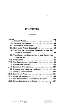 Book: 1892: The well-dressed woman : a study in the practical application to dress of the laws of health, art, and morals / By Helen Gilbert Ecob ...