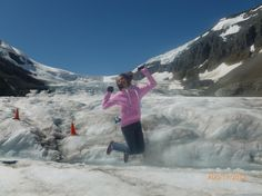 Happy to be exploring the Columbia Icefield! Adventure Center, Local Activities, Banff, The Locals, Mount Everest, Exploring, Columbia, Mountains, Happy
