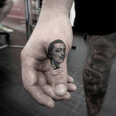 Micro Portrait Tattoos | Tattoo Artists - Inked Magazine