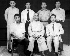 ip man with Chu Shong Tin, ip Poh Ching, Li Kan Shing, Wong Shun Leung, Lo Bing, Tsui Kong Tin