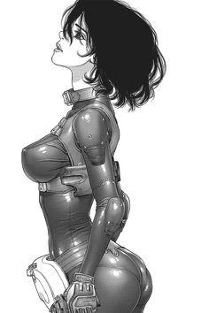 rhubarbes: Sun Ken Rock, found via Ominous - 不吉 - Mi arte y otras weas Cyberpunk Character, Cyberpunk Art, Boichi Manga, Sun Ken Rock, Samurai Artwork, Female Reference, Space Girl, Girls Gallery, Girl Inspiration