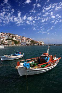 www.360skopelos.com Greece, Boat, Greece Country, Dinghy, Boats, Ship