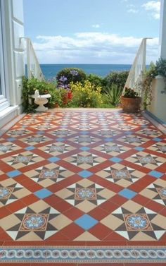 Carreaux de ciment / Ciment tiles / Terrace tiles