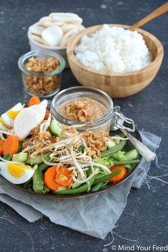 Gado Gado, Asian Recipes, Healthy Recipes, Ethnic Recipes, Good Food, Yummy Food, Healthy Slow Cooker, Caribbean Recipes, Indonesian Food