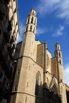 Santa Maria del Mar church, Born District, Barcelona, Spain Copyright: Juan Ferragut