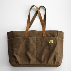 personalized garden tote from RedEnvelope.com
