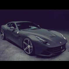 Gorgeous Matte Ferrari F12 Berlinetta. Dream car