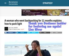 Insights from the Road: Business Insider and Lisa Niver - http://wesaidgotravel.com/business-insider/