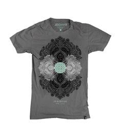 Jedidiah - Boho Slate Shirt