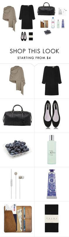 """""""Untitled #41"""" by greywithgrey ❤ liked on Polyvore featuring Harrods, Yves Saint Laurent, Mulberry, Blink, RéVive, Beats by Dr. Dre, L'Occitane, CO and Falke"""