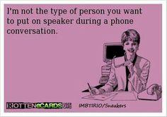 ha! conversation ecard