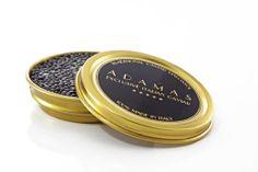 Black caviar ADAMAS is fresh Caviar, made by Acipenser Baerii sturgeon
