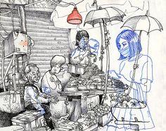 Tommy Kane's Art Blog: Unmean Streets