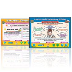 Forms of Writing 1 Interactive Whiteboard Charts: Set of 2