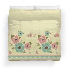 "Vintage pattern with a border ""Nostalgic Flowers"""