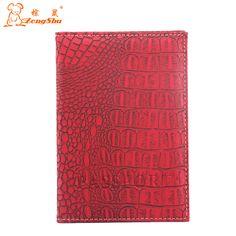 Zongshu 2015 crocodile pu leather passport holder male and female passport cover credit card holder passport bag ticket clip