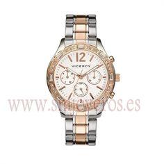 * Reloj Viceroy Mujer .Modelo 40748-05. * * Caja de acero e Ip rosa. * Brazalete de acero e Ip rosa. * Esfera redonda de color blanco. ...