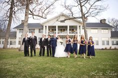 Bridal party at Waldenwoods - Kate Saler Photography www.katesalerphotography.com