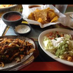 El Jalisco the best Mexican food in Grant County, KY. Chicken fajitas
